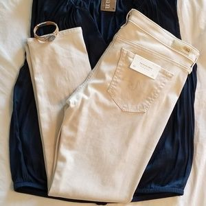Denim - Anthropologie AG Beige Jeans